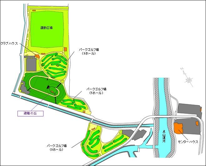 荒浜地区位置図