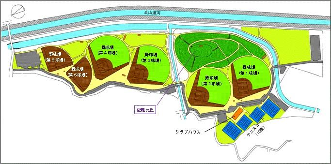 岡田地区位置図