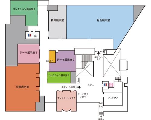 フロアマップ|仙台市博物館
